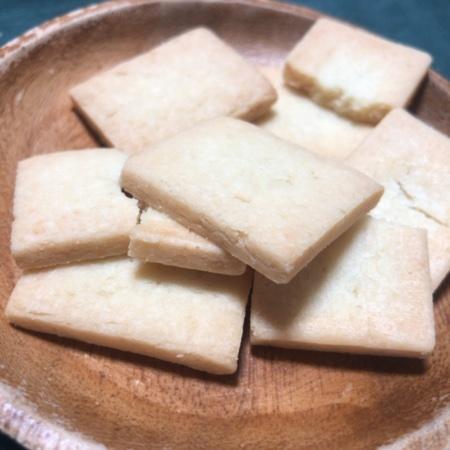 小麦・卵・乳不使用のお菓子 プレーンサブレ 【無印良品】の中身画像