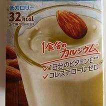 アーモンド・ブリーズ アーモンドミルク 砂糖不使用 【ポッカサッポロ】の中身画像