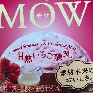 MOW 甘熟いちご練乳 数量限定 【森永乳業】【冷凍】の中身画像