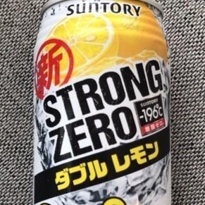 -196℃ ストロングゼロ ダブルレモン 【サントリー】の中身画像