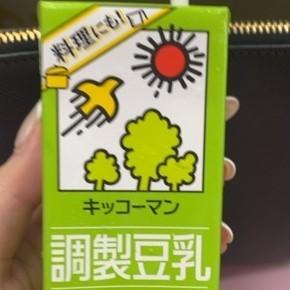 調整豆乳 【キッコーマン】の中身画像