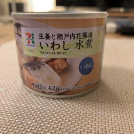 セブンプレミアム いわし 水煮 【セブンイレブン】【缶】のパッケージ画像