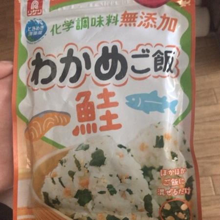 わかめご飯鮭 【理研ビタミン】のパッケージ画像