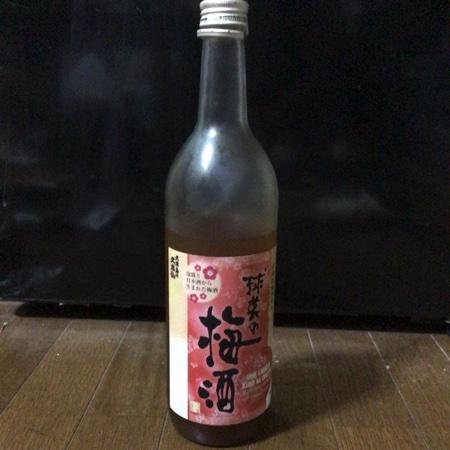球美の梅酒 【久米島の久米仙】のパッケージ画像