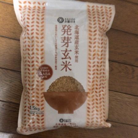 みなさまのお墨付き 発芽玄米 【西友】のパッケージ画像