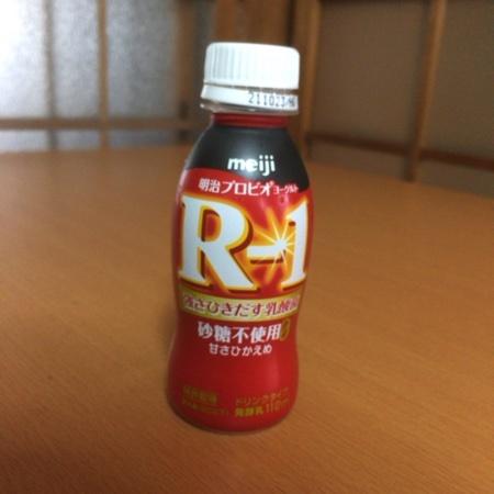 明治ヨーグルト R-1 ドリンクタイプ 砂糖0 甘さ控えめ 【明治】のパッケージ画像
