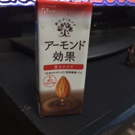 アーモンド効果 薫るカカオ 【グリコ】のパッケージ画像