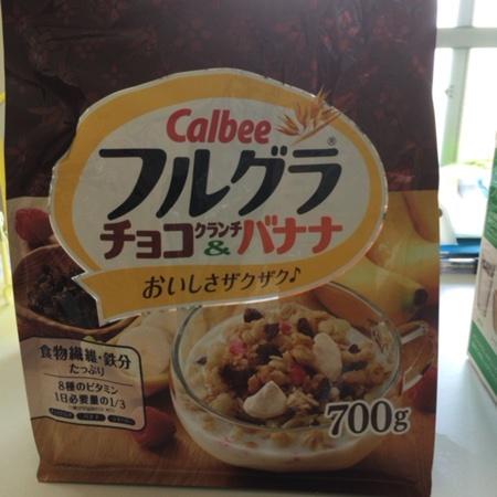 フルグラ チョコクランチ&バナナ 【カルビー】のパッケージ画像