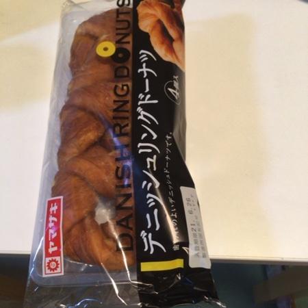 デニッシュリングドーナツ 【山崎製パン】のパッケージ画像