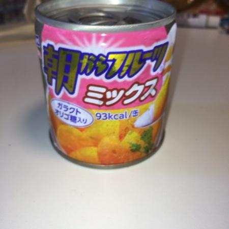 朝からフルーツミックス 【はごろもブース】【缶】のパッケージ画像