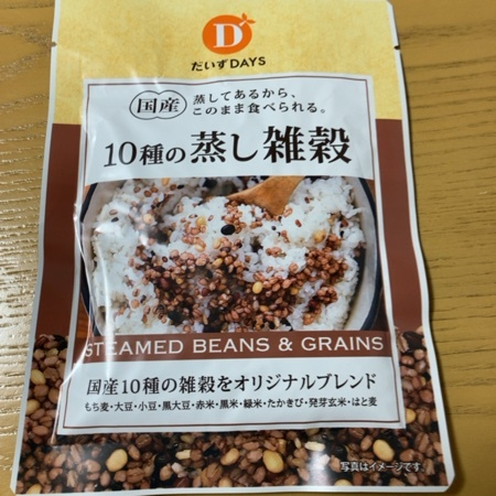 10種の蒸し雑穀 【だいずデイズ】のパッケージ画像