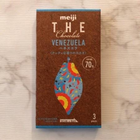 ザ・チョコレート ベネズエラ カカオ70 【明治】のパッケージ画像