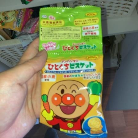 アンパンマン ひとくちビスケット 4連 【不二家】のパッケージ画像
