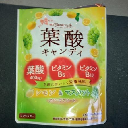 ママスタイル 葉酸キャンディ 【和光堂】のパッケージ画像