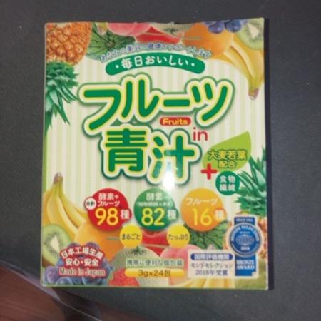 フルーツ青汁 【ジャパンギャルズSC】のパッケージ画像