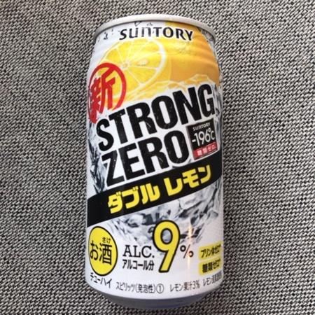 -196℃ ストロングゼロ ダブルレモン 【サントリー】のパッケージ画像