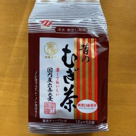 昔の麦茶 【富士食糧】のパッケージ画像