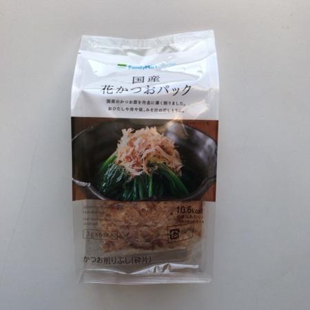 国産花かつおパック 【ファミリーマート】のパッケージ画像