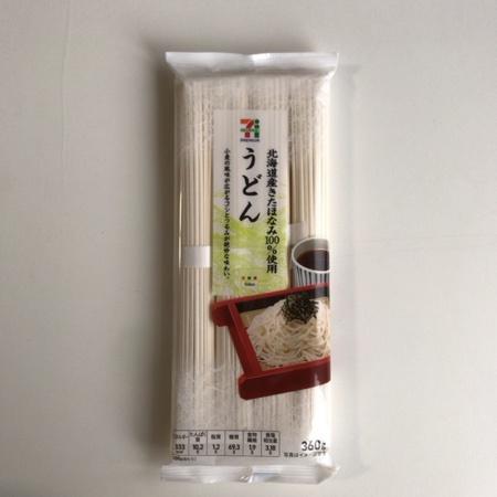 セブンプレミアム 北海道産きたほなみ100%使用 うどん 【セブンイレブン】のパッケージ画像
