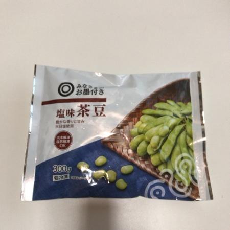 みなさまのお墨付き 塩味茶豆  【西友】【冷凍】のパッケージ画像