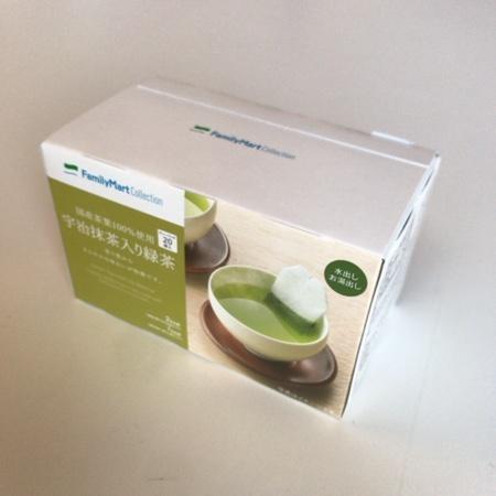 国産茶葉100%使用 宇治抹茶入り緑茶 【ファミリーマート】のパッケージ画像
