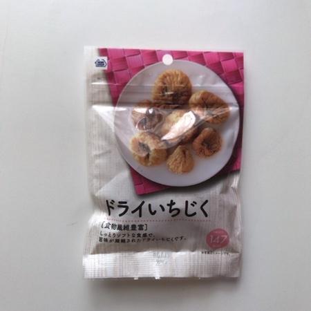 ドライいちじく 【ミニストップ】のパッケージ画像