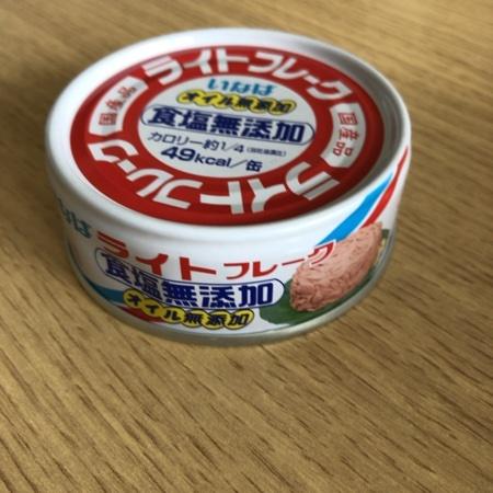 ライトフレーク 食塩無添加 【いなば食品】【缶】のパッケージ画像