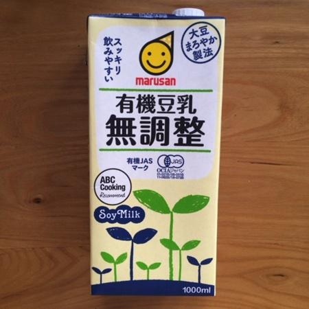 有機豆乳 無調整 【マルサン】のパッケージ画像
