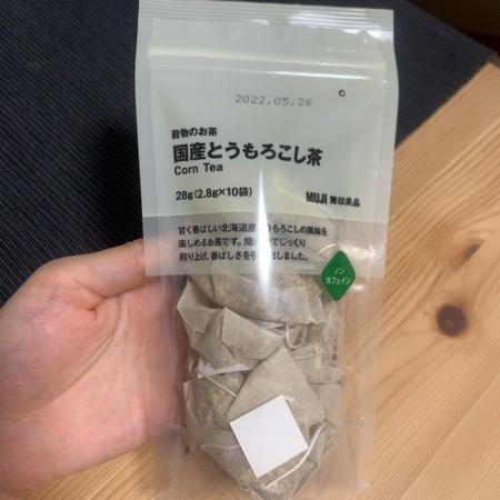 穀物のお茶 国産とうもろこし茶 【無印良品】のパッケージ画像