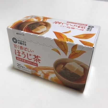 みなさまのお墨付き 甘く香ばしい ほうじ茶 【西友】のパッケージ画像