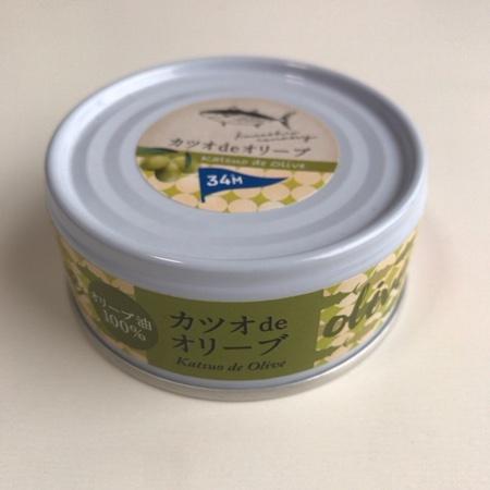 カツオ de オリーブ 【黒潮町缶詰製作所】【缶】のパッケージ画像