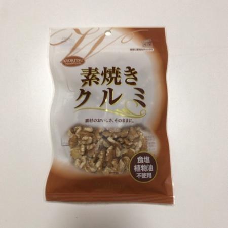 素焼きクルミ 【共立食品】のパッケージ画像