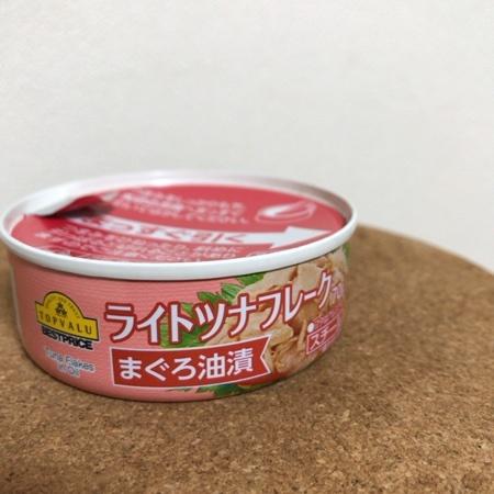 トップバリュ ベストプライス ライトツナ 【イオン】【缶】のパッケージ画像