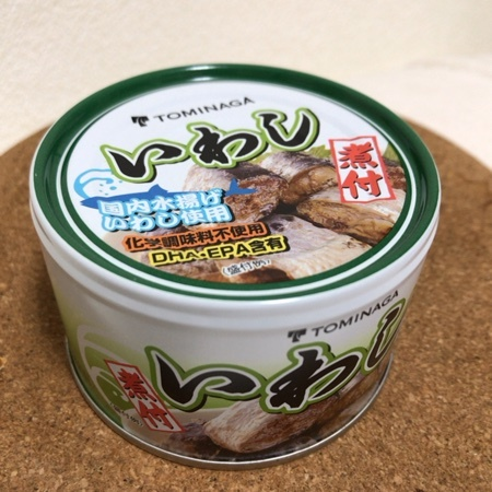 いわし煮付 【富永食品】【缶】のパッケージ画像
