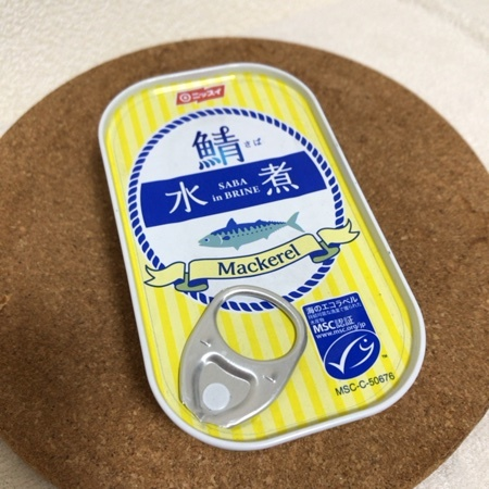 デンマーク産さば水煮 【ニッスイ】【缶】のパッケージ画像