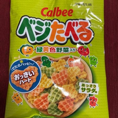 ベジたべる あっさりサラダ味 【カルビー】のパッケージ画像