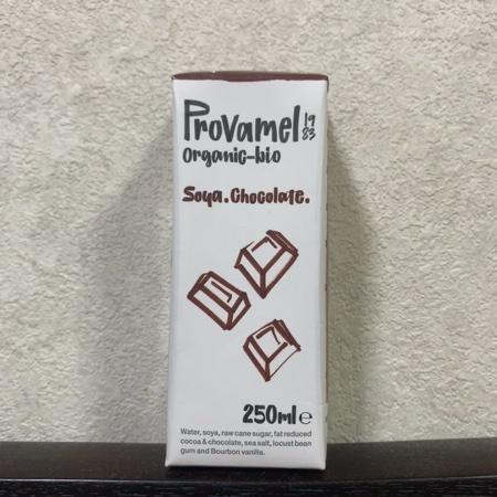 オーガニック豆乳飲料 チョコレート味 【プロヴァメル】のパッケージ画像
