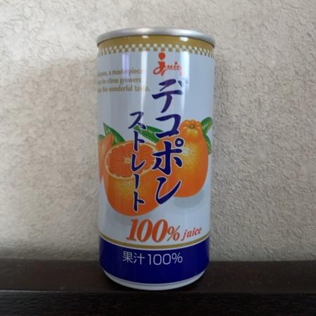 デコポン ストレート100%ジュース 【ジューシー】のパッケージ画像