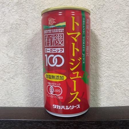 カントリーハーヴェスト 有機トマトジュース 【タカハシソース】のパッケージ画像