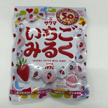 いちごみるく 【サクマ製菓】のパッケージ画像
