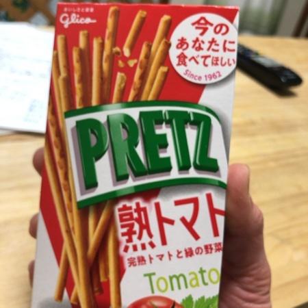 プリッツ 熟トマト 【グリコ】のパッケージ画像