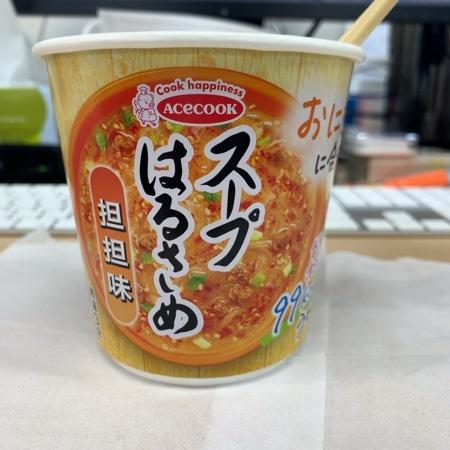 スープはるさめ 担担味 【エースコック】のパッケージ画像