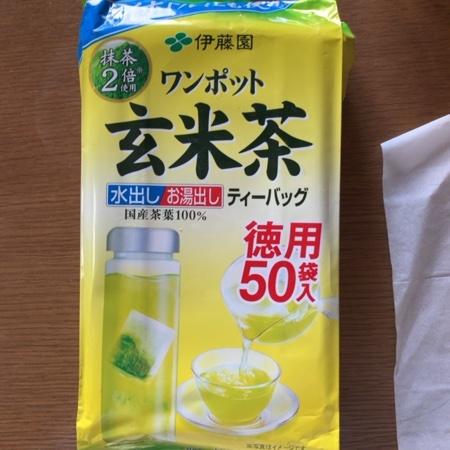 ワンポット玄米茶 【伊藤園】のパッケージ画像