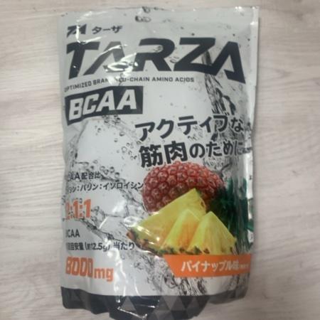 BCAA 8000mg アミノ酸 クエン酸 パウダー パイナップル風味 【TARZA】のパッケージ画像