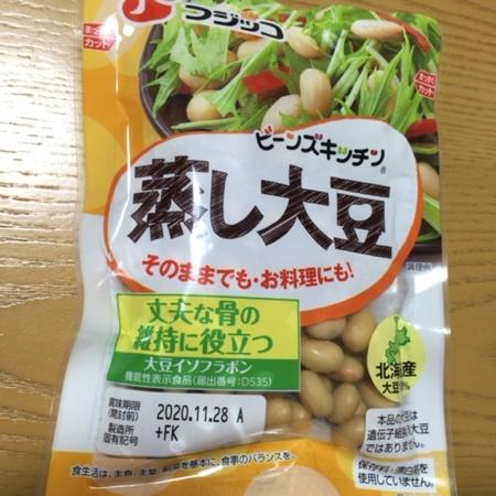 蒸し大豆 100g 【フジッコ】のパッケージ画像