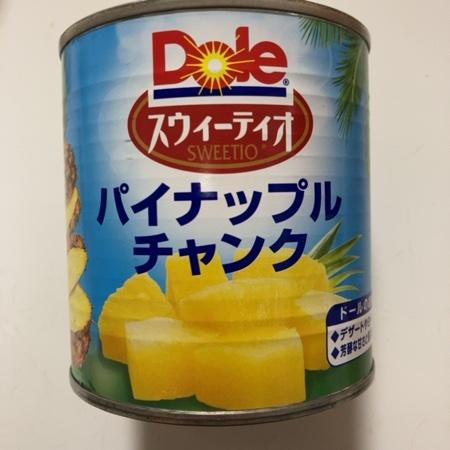 スウィーティオパイナップルチャンク 【Dole】【缶】のパッケージ画像