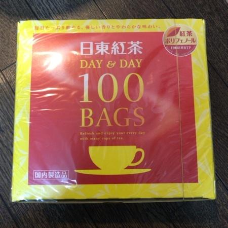 DAY&DAY 100袋入り 【日東紅茶】のパッケージ画像