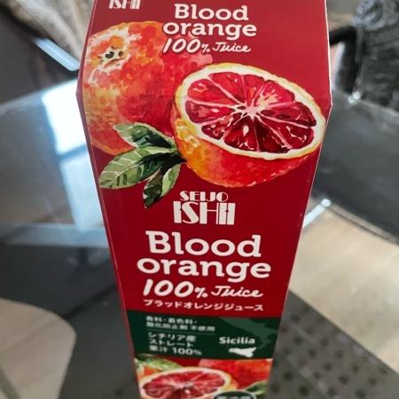 ブラッドオレンジジュース(ストレート) 【成城石井】のパッケージ画像
