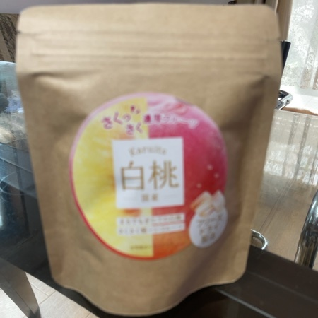 カルーツ フリーズドライフルーツ 白桃 【日本緑茶センター】のパッケージ画像
