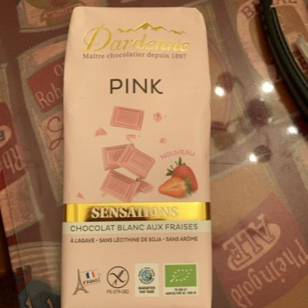 ダーデン アガベチョコレート ストロベリーピンク カカオ43% 【アルテマラ】のパッケージ画像